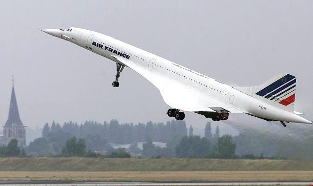Concorde, el auténtico rey supersónico
