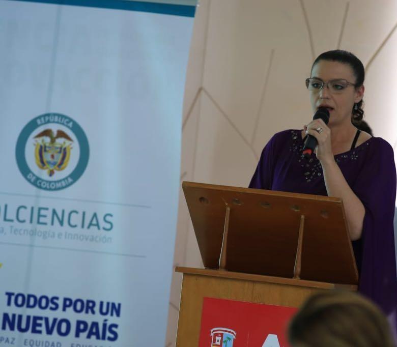 Daniela González gerente de la SCT