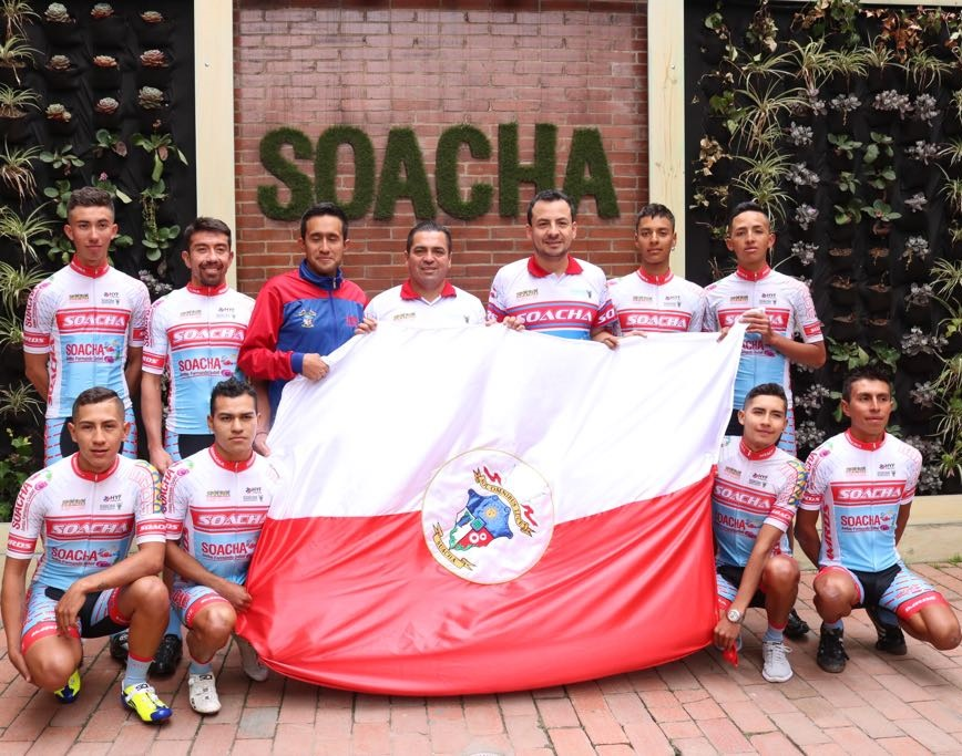 zzEquipo Élite de Cilcismo bandera Soacha