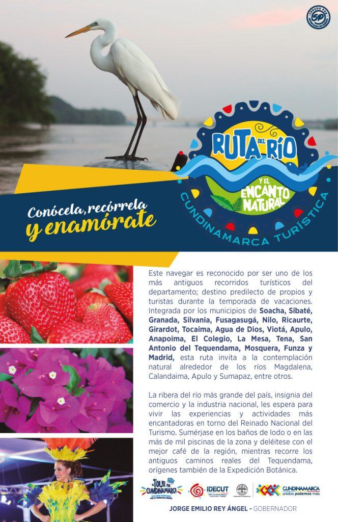A Ruta del Rio y el encanto Natural