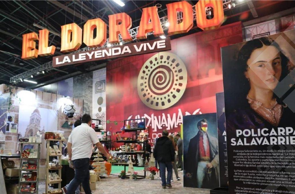 La Leyenda del Dorado estuvo presente en cada uno de los stand participantes de Expocundinamarca