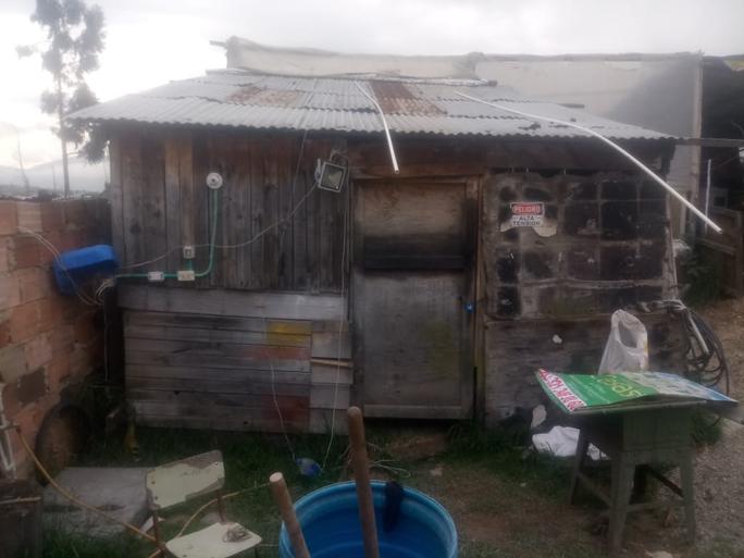 Residencia donde habita actualmente la familia Rodríguez-Mora.