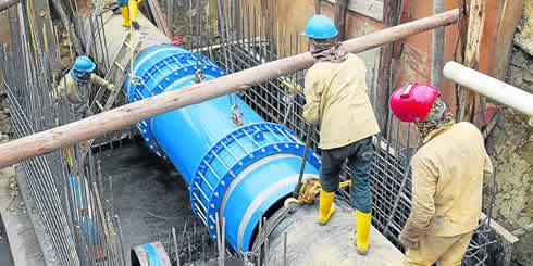 Acueducto de Bogotá inicia obras para solucionar definitivamente el problema del agua en Soacha