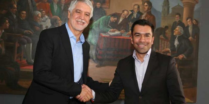 Gobernador Rey y alcalde Peñalosa comprometidos en integración Bogotá–Región