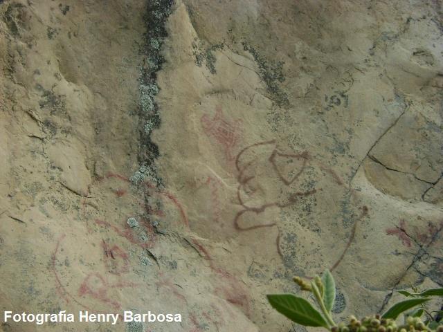 Los murales milenarios han sido afectados por el vandalismo de los visitantes ocacionales.