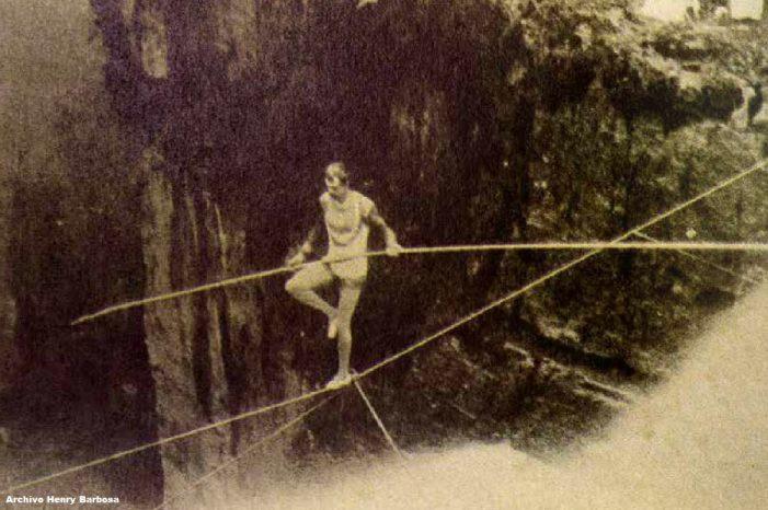 Harry Warner el hombre que realizó lo imposible, caminar sobre el Salto del Tequendama