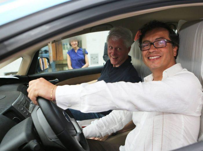 Gustavo Petro y Bill Clinton se reunieron en Cartagena