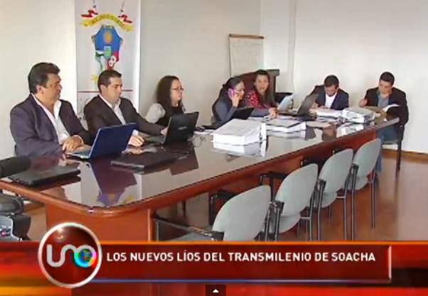 Nuevo escándalo en la contratación de las obras del Transmilenio de Soacha