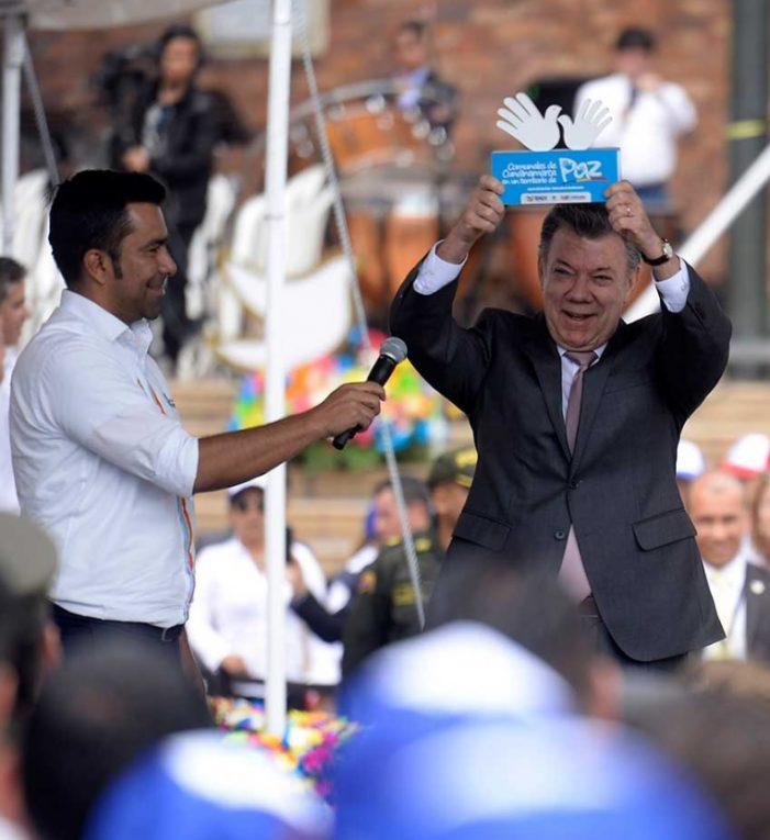 El Sí a la Paz nos permitirá dar el salto hacia la nueva Colombia: Presidente Santos