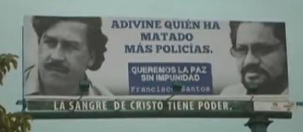 """El """"uribismo"""" instala vallas contra el proceso de Paz"""