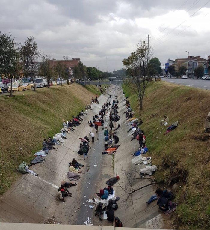 Emergencia humanitaria en Bogotá