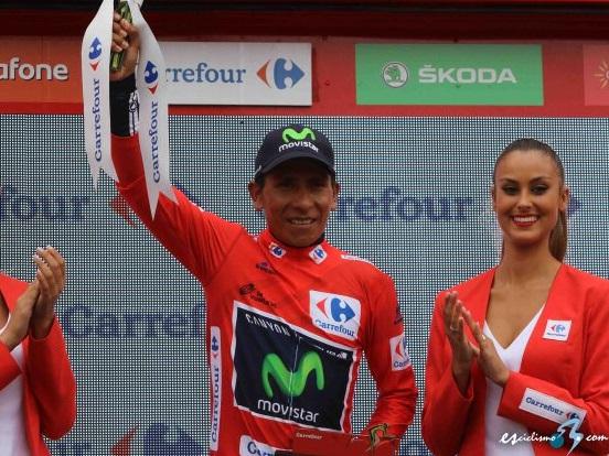 Nairo Quintana líder de la Vuelta a España