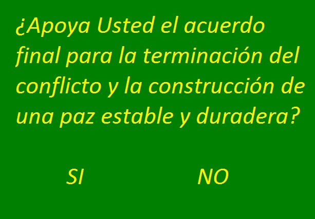 Presidente Santos firma decreto que convoca al plebiscito y fija la pregunta que responderán los colombianos
