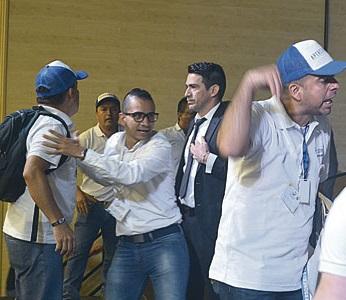 Gresca en elección de presidente de Federación de Personeros en Pereira