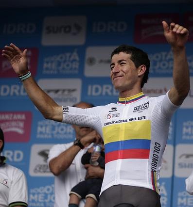 Sergio Luis Henao, campeón Nacional de Ruta de Colombia