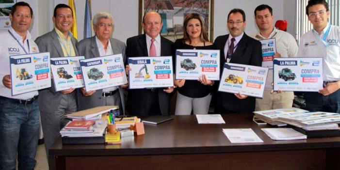Destinan $13.500 millones para compra de maquinaria para municipios de Cundinamarca