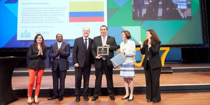 Gobernación de Cundinamarca recibe reconocimiento de la ONU