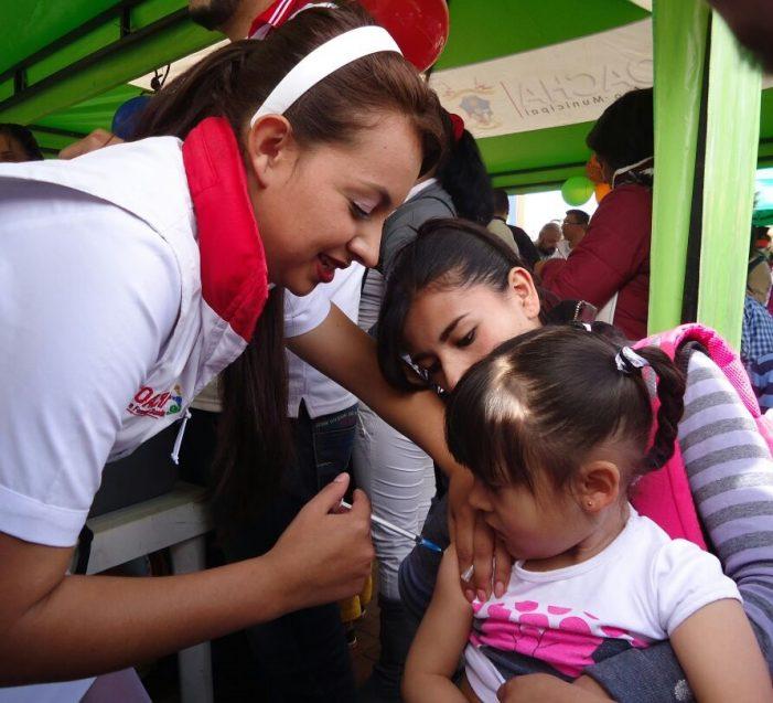 En Soacha más de 2.290 personas acudieron a Jornada de Vacunación