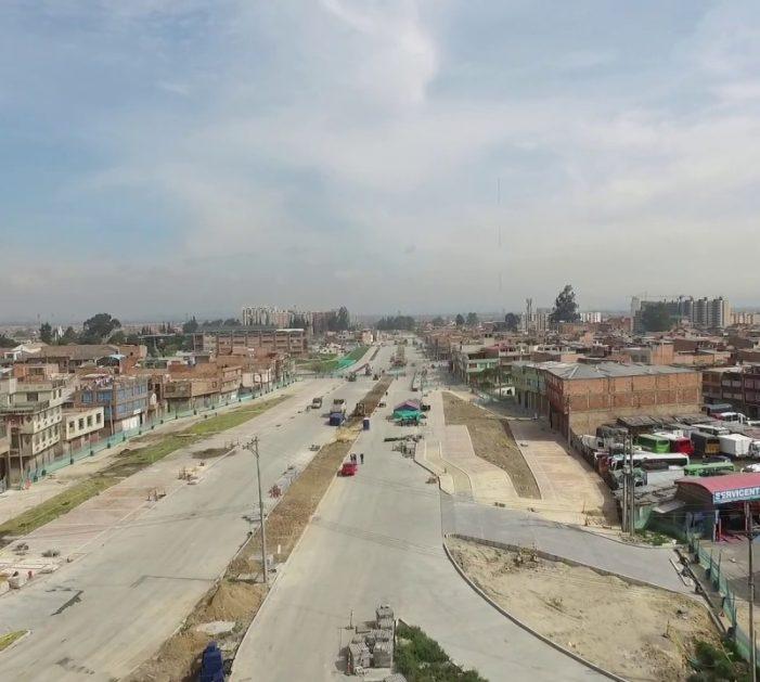 A finales de este año estaría lista la Avenida Bosa en el sur de Bogotá
