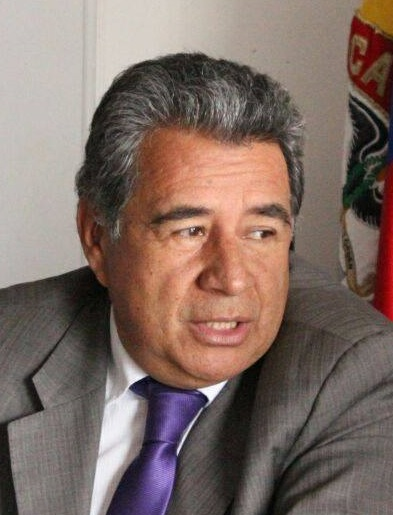 Eleázar González, alcalde de Soacha