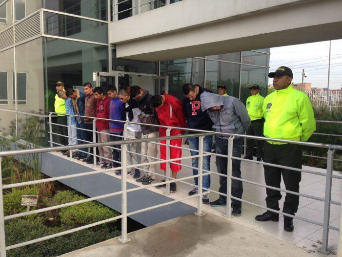 Más de 17 bandas delincuenciales desarticuladas en Soacha
