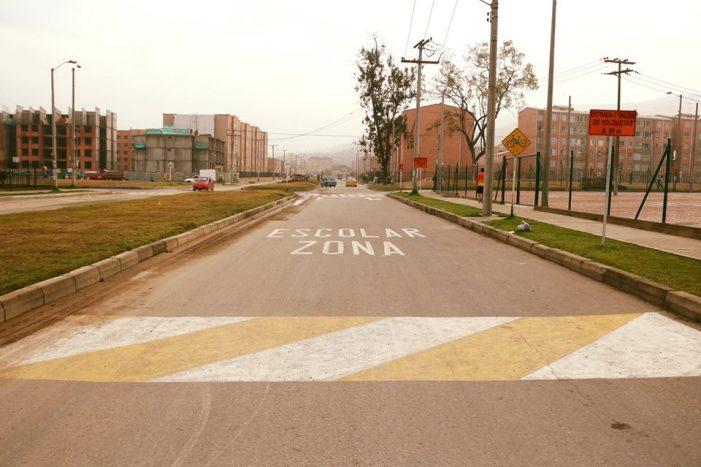 Con agresivo plan de señalización Soacha enfrenta accidentalidad vial
