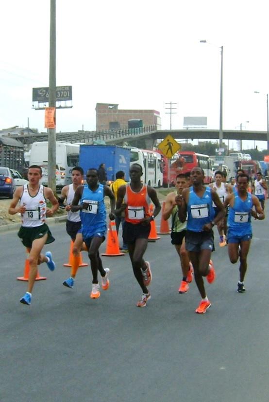 La Carrera Atlética Internacional Ciudad de Soacha se corre este sábado con muchas figuras