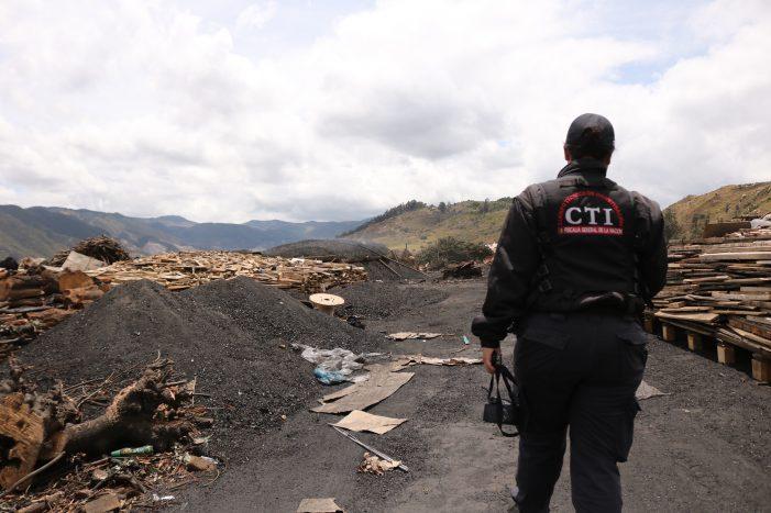 Capturadas tres personas que se dedicaban a la contaminación ambiental en Soacha
