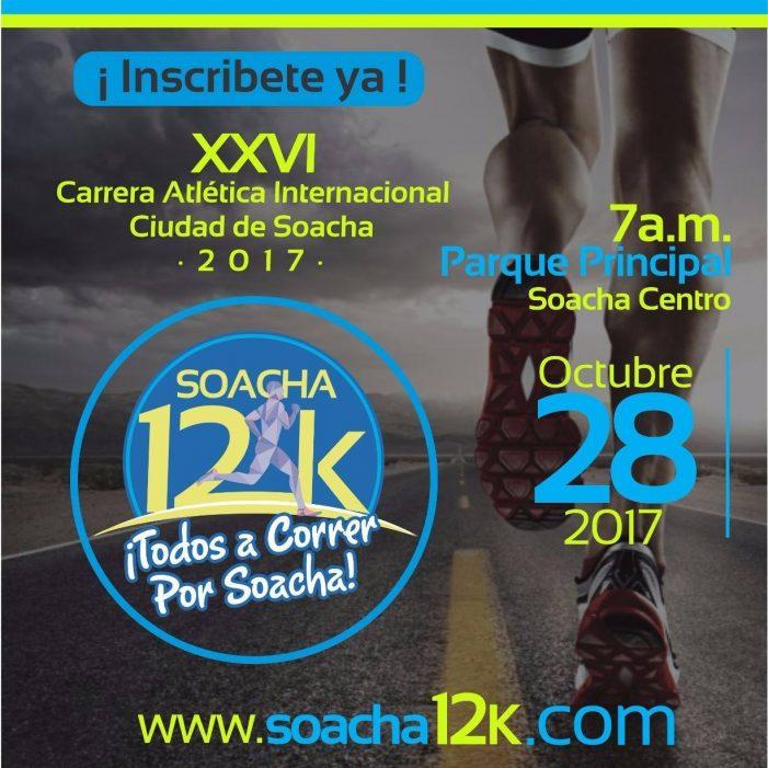 Lista la XXVI Carrera Atlética Internacional Ciudad de Soacha
