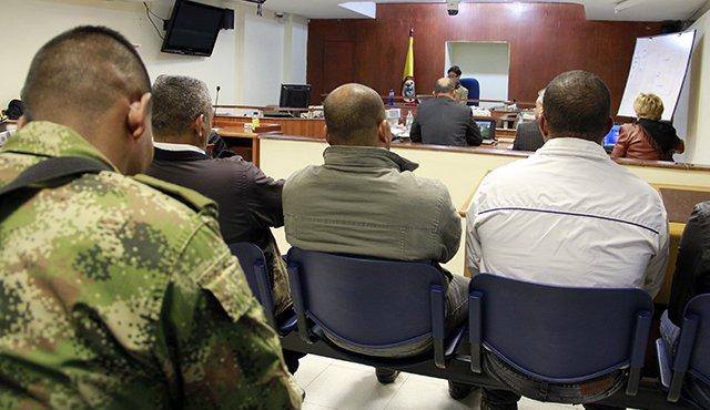 Unos 1.160 miembros de fuerza pública colombiana fueron detenidos desde 2016