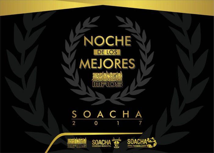 """En """"La Noche de los Mejores"""" Soacha premia los mejores deportistas del 2017"""