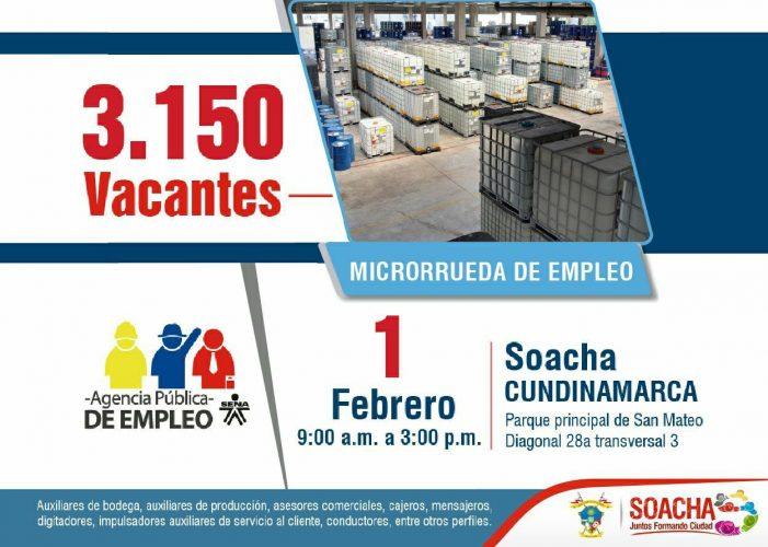 SENA ofrece en Soacha 3.150 nuevas oportunidades laborales