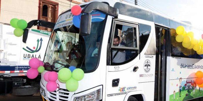 Cundinamarca invierte $3.700 millones en buses escolares para disminuir la deserción