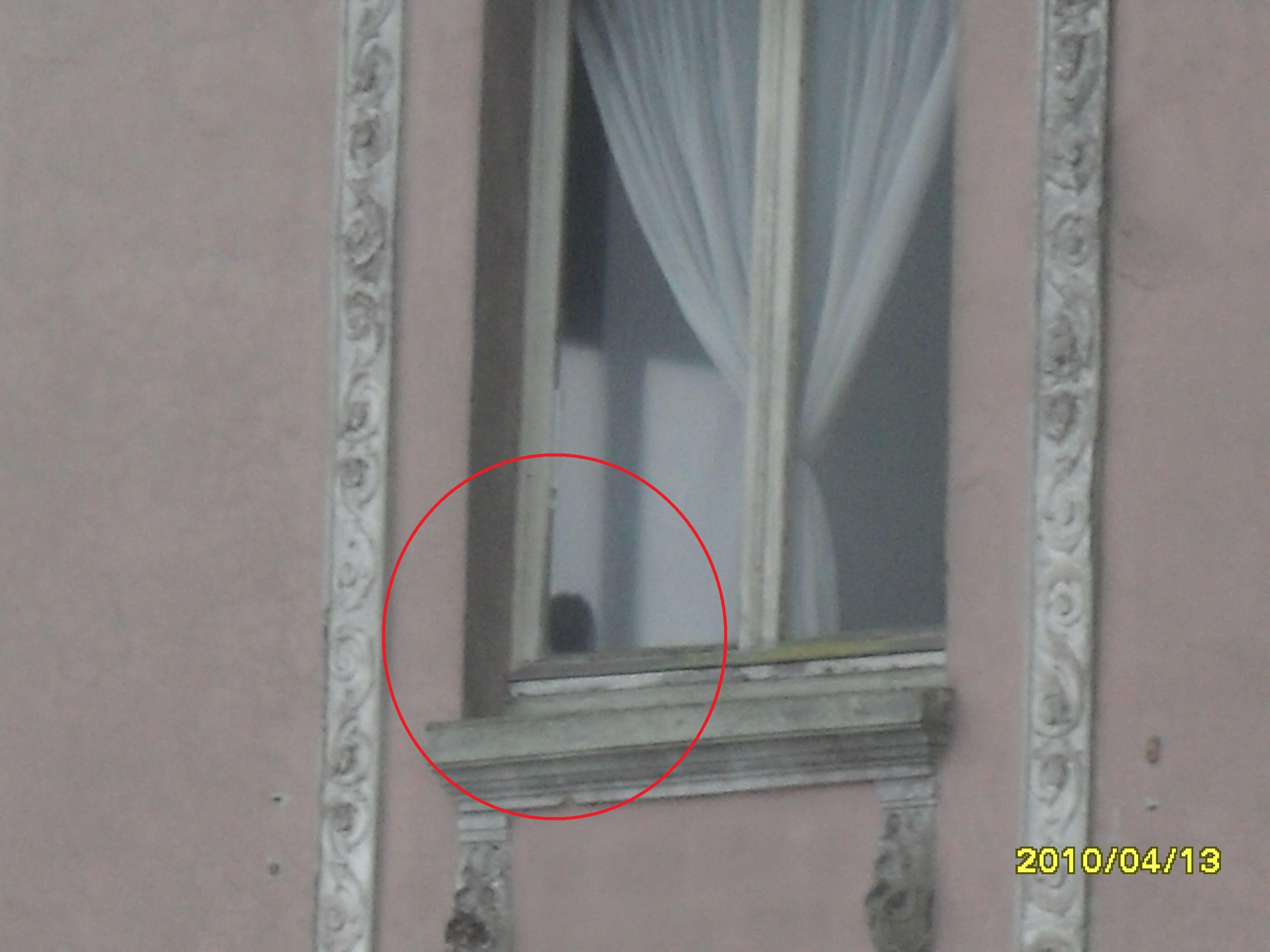 """Pocas veces se tiene la oportunidad de ver en fotografías un fantasma, en este caso """"La niña del Hotel del salto"""" Foto Jesús Gutiérrez..."""