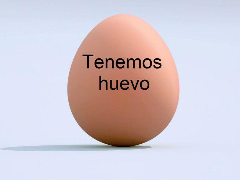 TENEMOS HUEVO