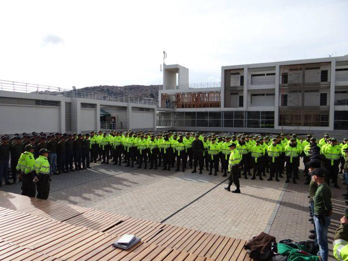 500 policías conforman el sistema de cuadrantes de Soacha