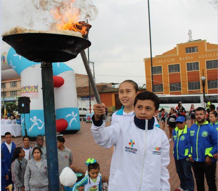 IMRDS inaugura los Juegos Intercolegiados Supérate 2018