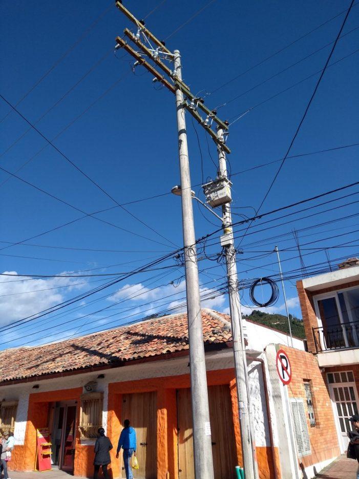 CODENSA modernizó la red eléctrica de Gachancipá