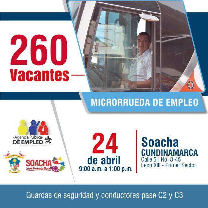 Jornada de empleo del SENA en el barrio León XIII de Soacha con 260 oportunidades de trabajo