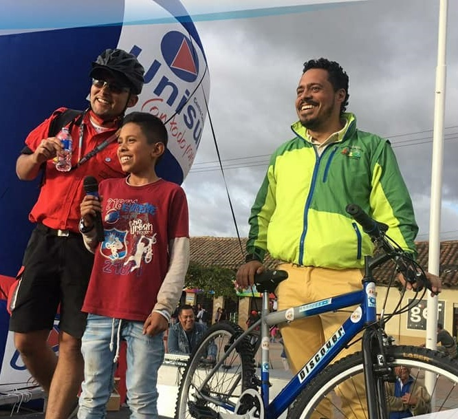 Con todo éxito se celebró en Soacha el Día internacional de la bicicleta
