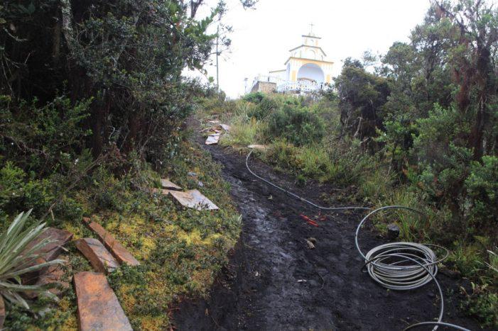 130 millones para mejorar acceso al cerro de Chegua, un atractivo más de Carmen de Carupa