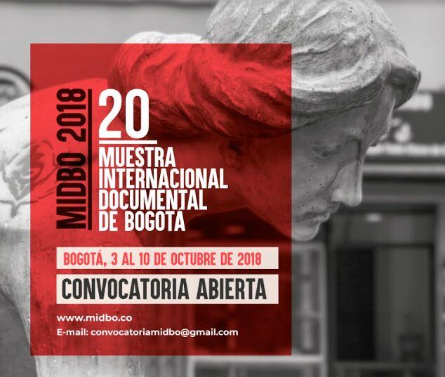 Muestra Internacional Documental de Bogotá abre convocatoria 2018