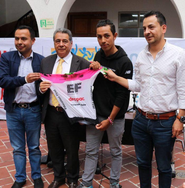 Daniel Felipe Martínez viaja a Europa para competir en el Tour de Francia 2018