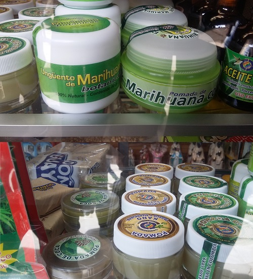Alertan por pomadas de hoja de coca y marihuana que producen efectos en la piel