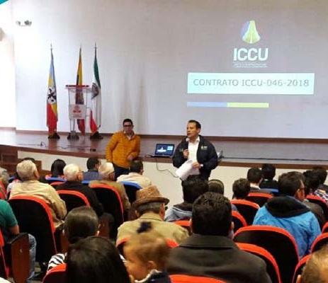 Gobernación de Cundinamarca socializó las obras que adelanta en Sibaté