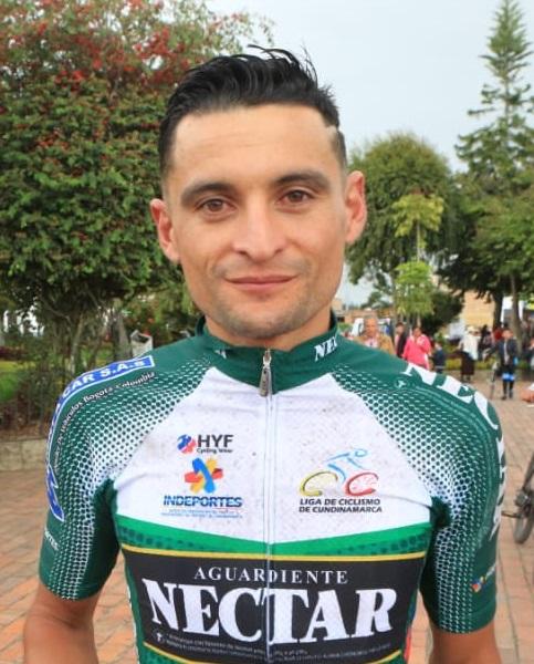 Óscar Pachón ganó la segunda etapa de la Vuelta a Cundinamarca en Simijaca