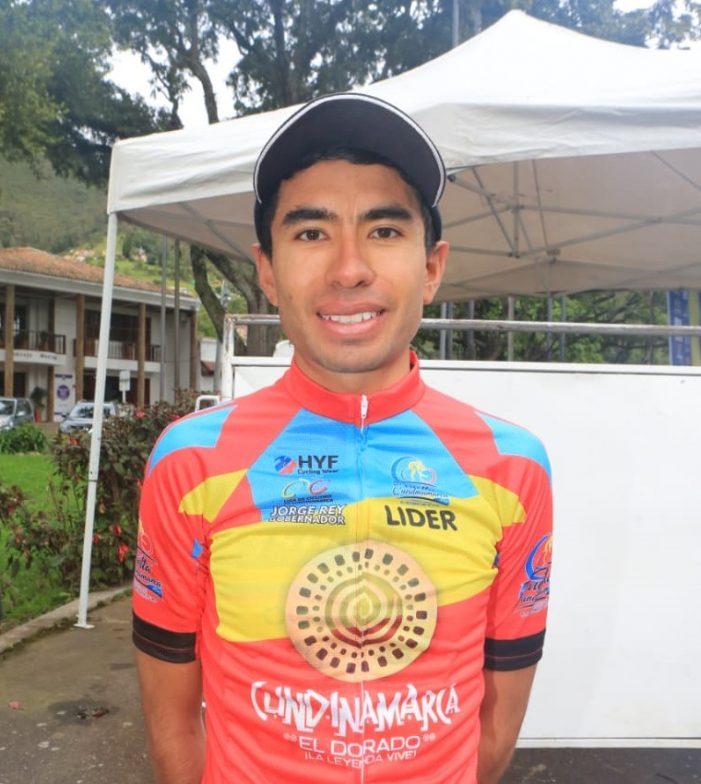 Wildy Sandoval, primer líder de la Vuelta a Cundinamarca 2018
