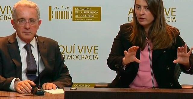 A pesar de su conflicto de interés, Uribe Vélez presentó su proyecto de reforma a la Justicia