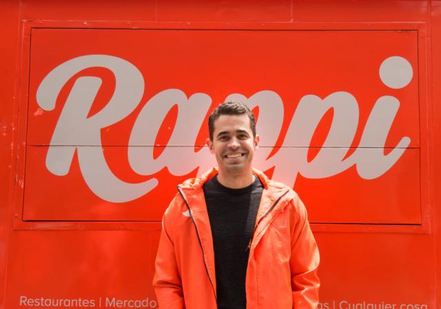 Sebastián Mejía, socio fundador de Rappi, startup colombiana de entrega de pedidos (Foto cortesía Rappi).