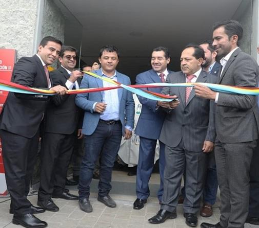 Gobernador Jorge Rey inauguró la planta de licores más grande de Suramérica